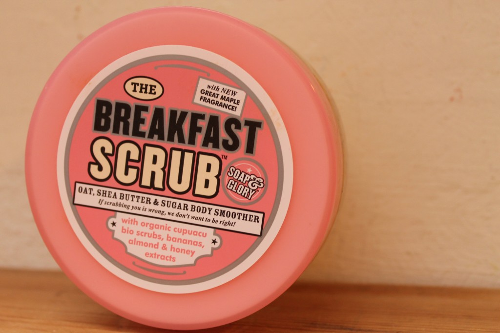 Soap & Glory Breakfast Scrub