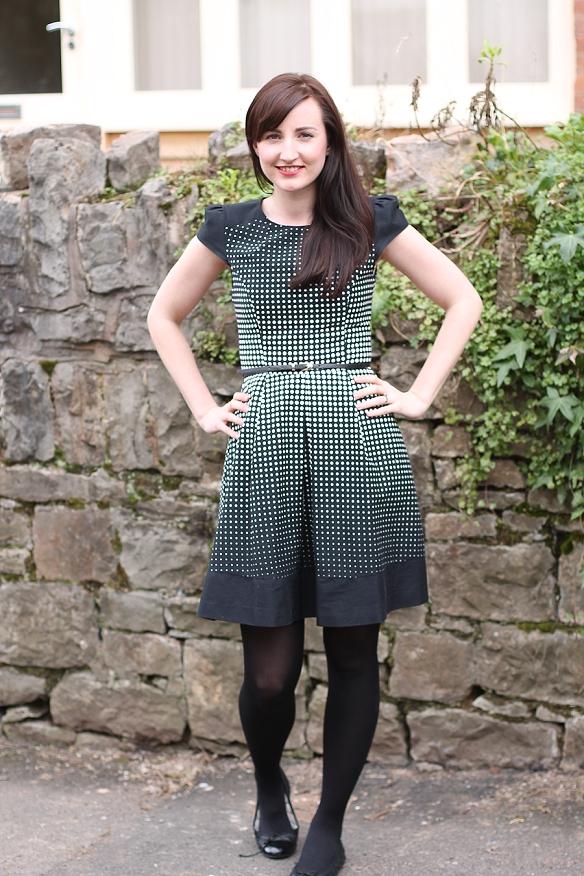 Oasis Ria Spot Dress