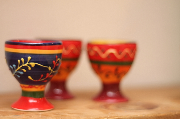 Colourful Ceramic Egg Cups