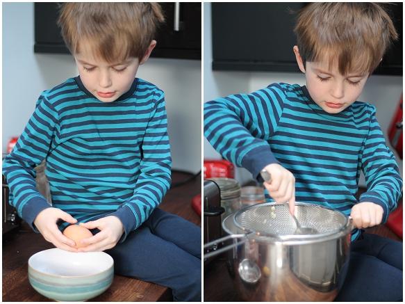 Jesse baking