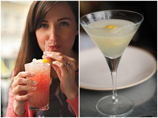 Cocktails at Jamie's Italian Bristol