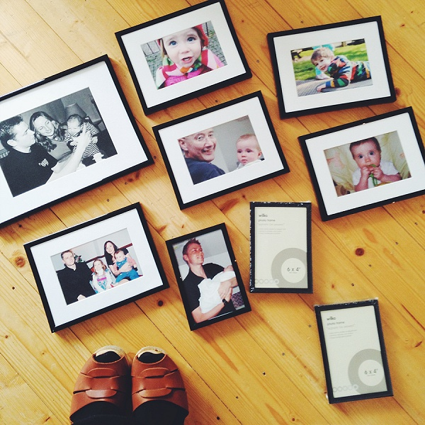 Family Photo Picture Wall