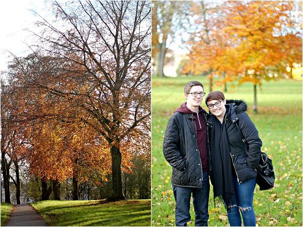 Clifton, Bristol in the autumn