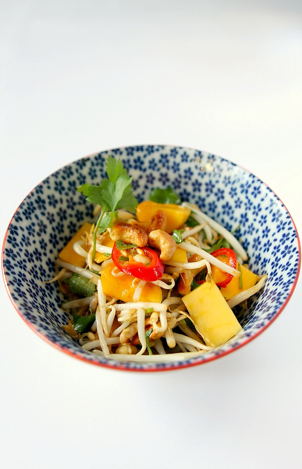 Bean Sprout Salad for Chinese New Year