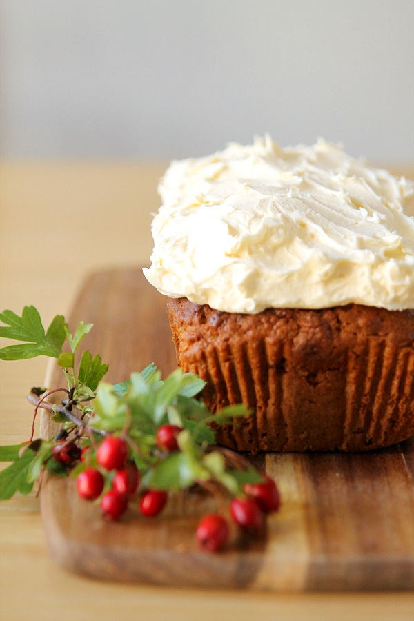 Spiced Autumn Apple Cake with Maple Frosting Recipe