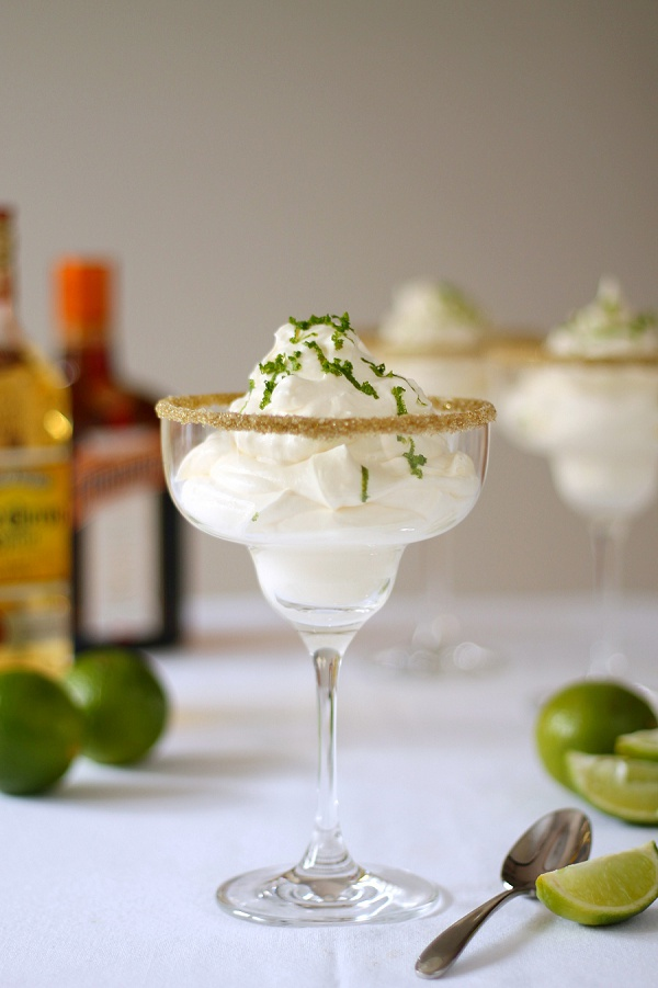 Margarita Cream Dessert with Linea at House of Fraser