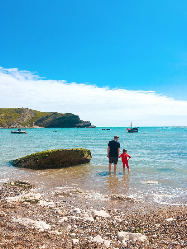 Love Audrey UK Lifestyle Blog Paddling at Lulworth Cove