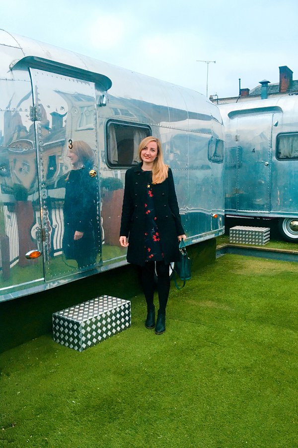 Airstream Camper Retro Rocket Brooks Guesthouse Bristol
