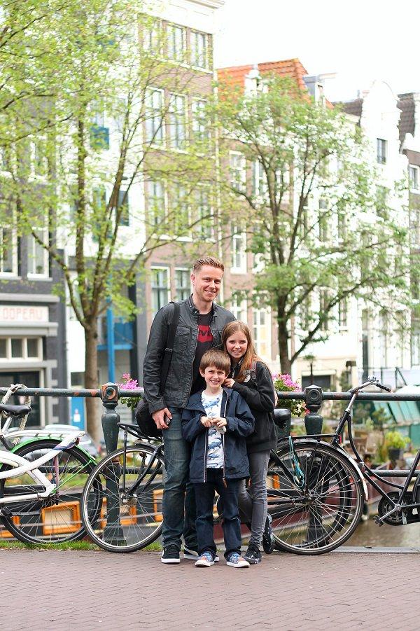 Family portrait Amsterdam