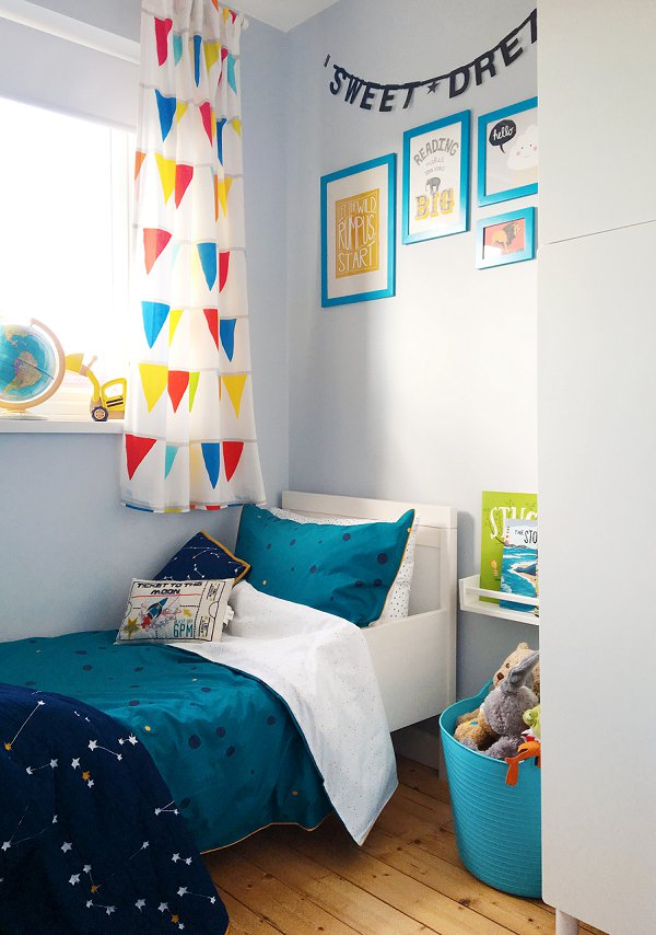 Home Comforts – New Bedding For Jesse's Bright, Colourful Bedroom