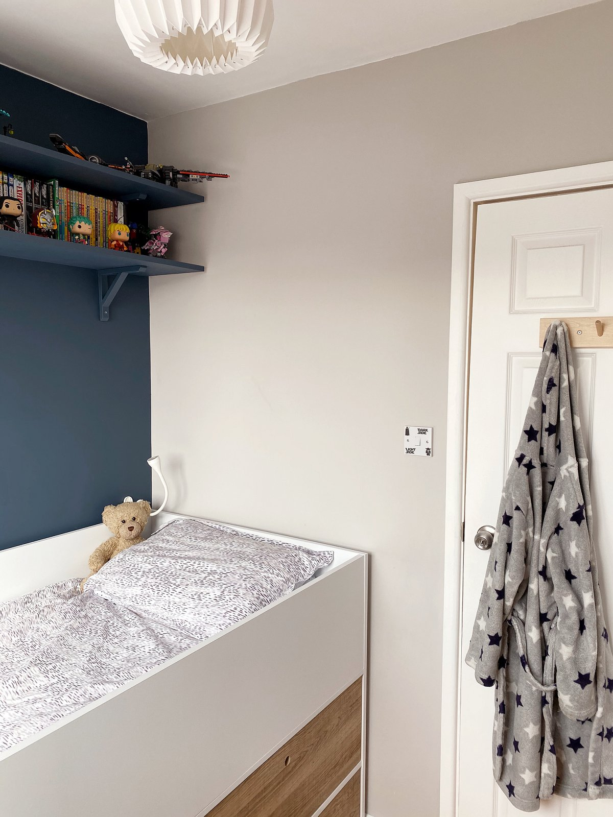 Love Audrey teenage boy's bedroom box room cabin bed