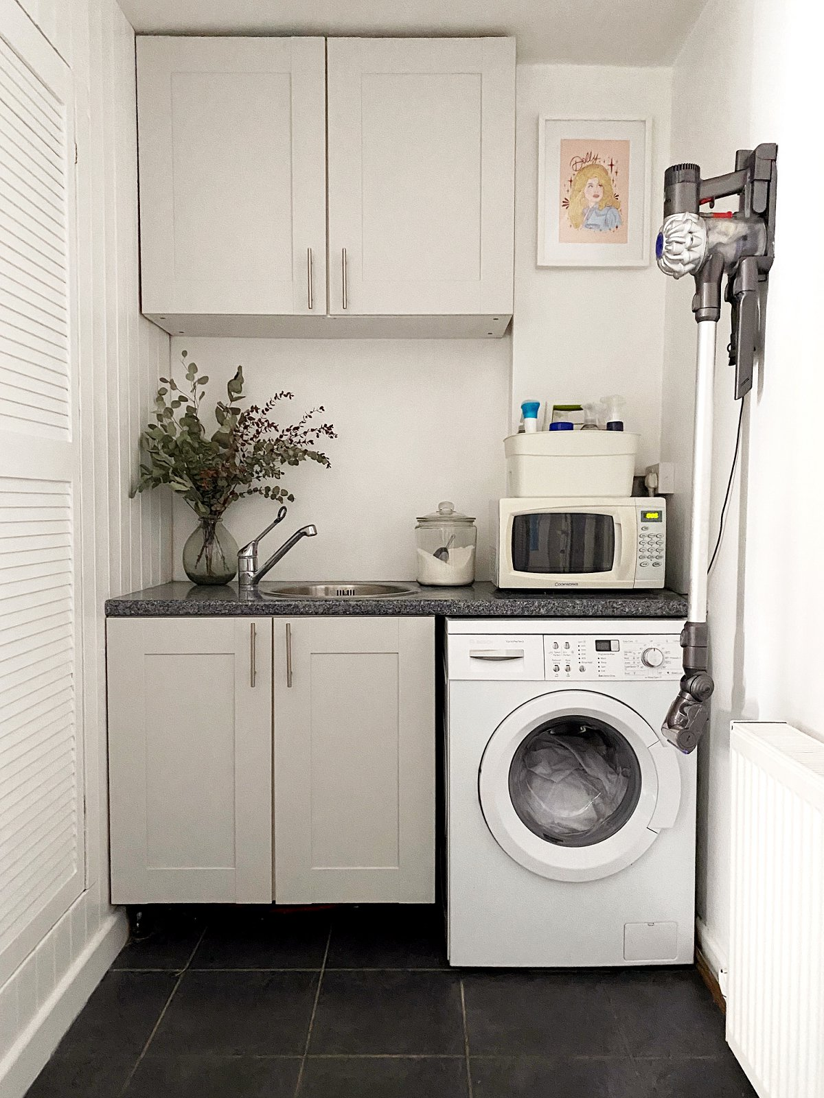 Love Audrey laundry room makeover